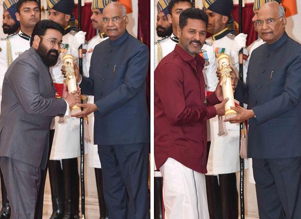 Mohanlal receives Padma Bhushan, Manoj Bajpayee, Prabhu Deva and other celebs are conferred with Padma Shri