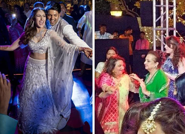 Arya and Sayyeshaa Wedding - From Saira Banu to the groom and bride, everyone set the dance floor on fire at this star studded wedding [See photos and videos inside]