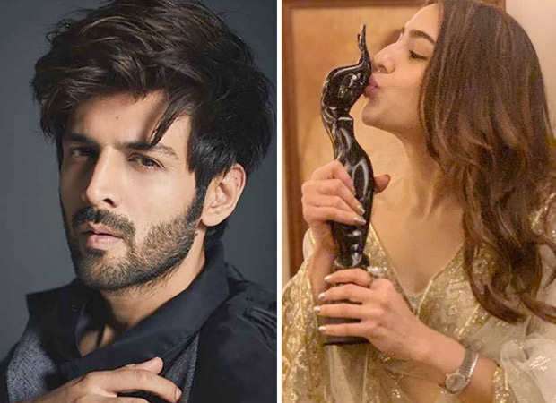 Filmfare Awards 2019: Kartik Aaryan asks Sara Ali Khan out after she wins an award for Kedarnath
