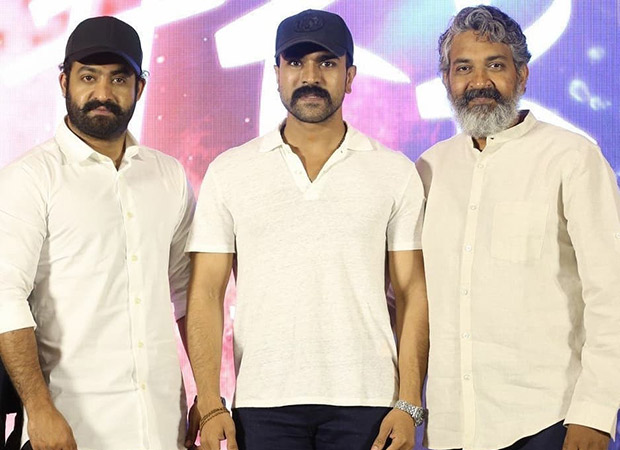 Junior NTR, Ram Charan and SS Rajamouli take off to Gujarat for RRR and here's the proof!