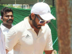 '83: Ranveer Singh dons test cricket uniform as he continues his hectic prep sessions