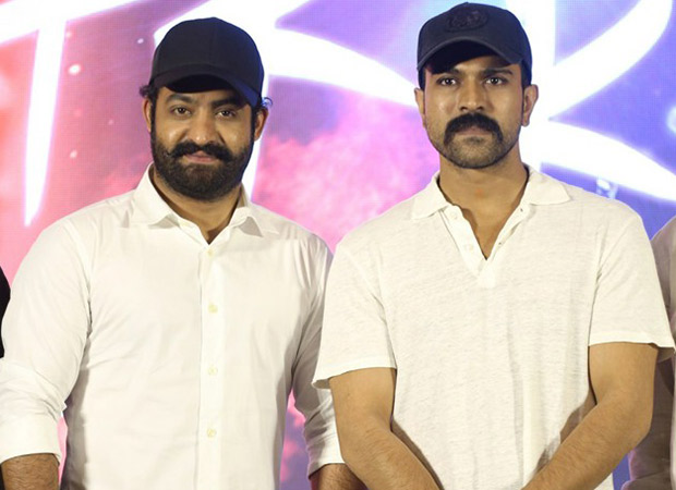 REVEALED: Ram Charan and Junior NTR look dashing in their new avatar for Rajamouli's RRR [watch video]
