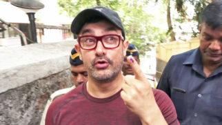 Aamir Khan Apne GHAR sae bhar aake VOTE kariye aur... Lok Sabha Elections Election Day