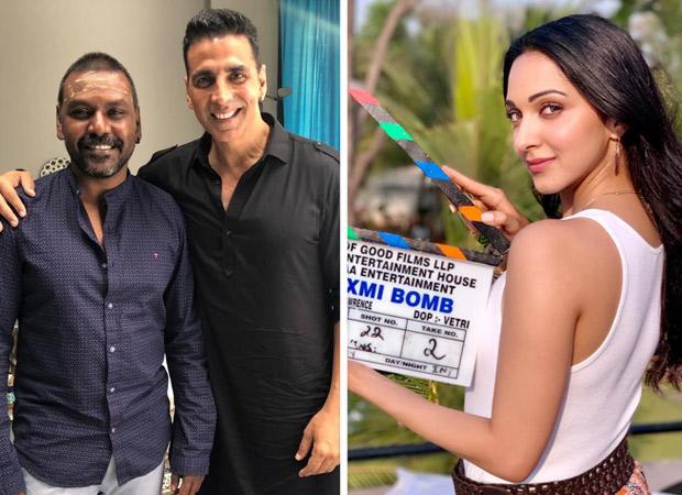 Akshay Kumar and Kiara Advani begin shooting for Kanchana Hindi remake, titled Laaxmi Bomb