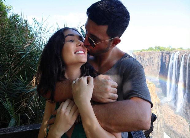 Amy Jackson expecting her first child with fiance George Panayiotou