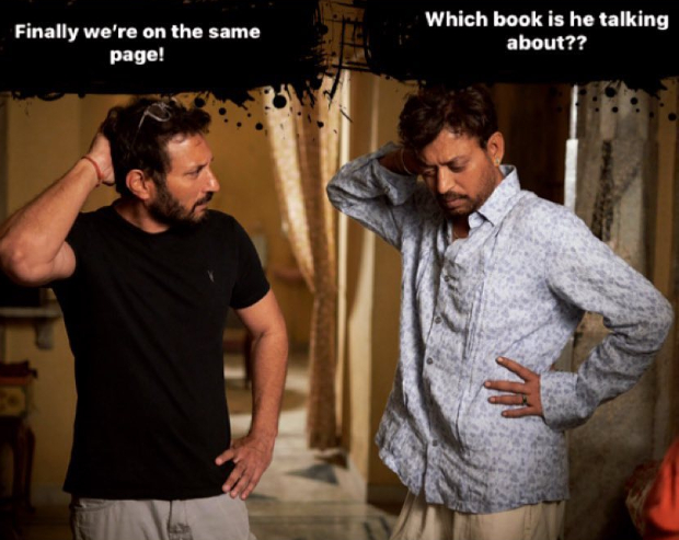 Angrezi Medium: Irrfan Khan and Homi Adajania's meme-filled shenanigans on the sets in Udaipur is hilarious