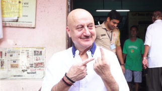 Anupam Kher, Twinkle Khanna & others cast their VOTES for Lok Sabha Elections