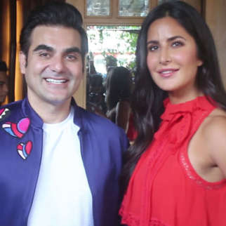 Arbaaz Khan With Katrina Kaif For Chat Show Pinch At Hoot Juhu