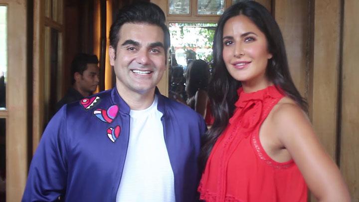 Arbaaz Khan With Katrina Kaif For Chat Show Pinch At Hoot Juhu