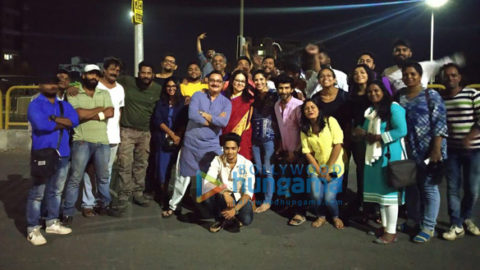 On The Sets Of The Movie Chappad Phaad Ke