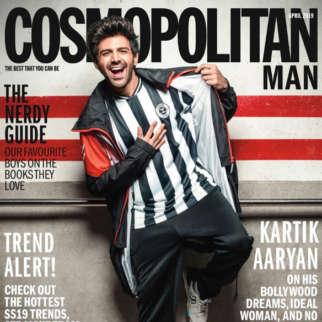 Kartik Aaryan On The Cover Of Cosmopolitan Man