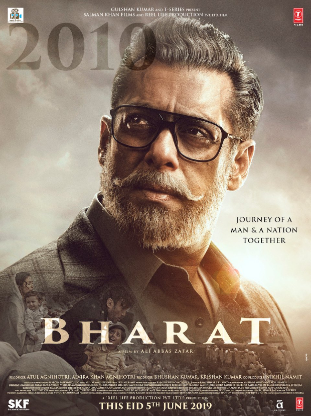 FIRST LOOK: Salman Khan's shocking transformation into an old man in Bharat