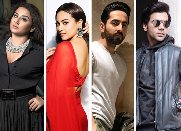 Vidya Balan nominates Sonakshi Sinha, Ayushmann Khurrana, Rajkummar Rao and others in this new Dance Challenge and they are more than happy to be a part of it!  [watch videos]
