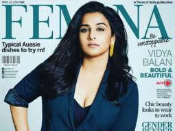 Vidya Balan on the cover of Femina, Apr 2019