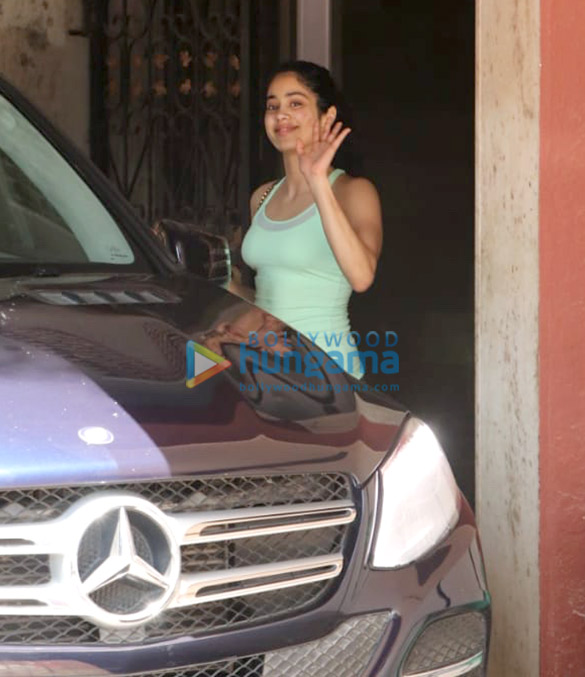 Janhvi Kapoor and Sara Ali Khan spotted at the Pilates gym in Khar