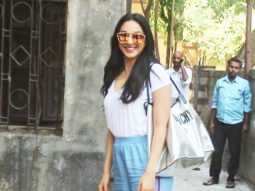 Kiara Advani SPOTTED at Pitambari showroom, Juhu