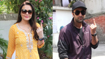 Ranbir Kapoor & Preity Zinta VOTES for Lokh Sabha Elections 2019