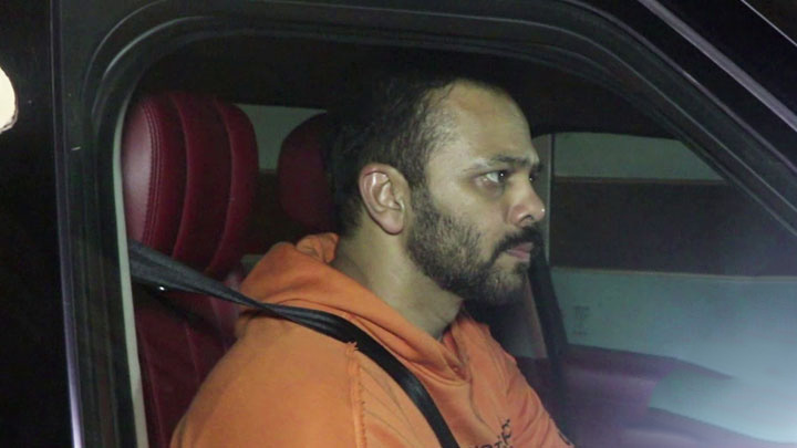 Rohit Shetty SPOTTED at Ekta Kapoor's House