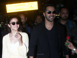 SPOTTED Kalank Team at Mumbai Airport