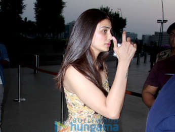 Salman Khan and Daisy Shah snapped at the airport