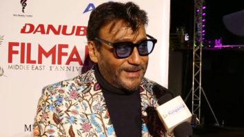 "Salman Khan is still like a CHILD To me and I Hope…"" Jackie Shroff Filmfare Middle East, Muscat"