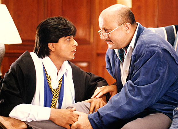 Shah Rukh Khan and Anupam Kher are missing each other and we think this calls for a Dilwale Dulhania Le Jayenge reunion!