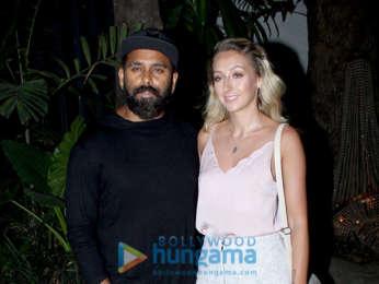 Sidharth Malhotra and Parineeti Chopra snapped at the wrap up party of 'Jabariya Jodi'