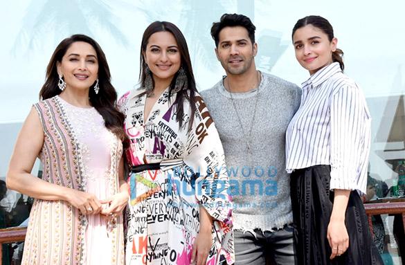 Sonakshi Sinha, Madhuri Dixit, Alia Bhatt and Varun Dhawan snapped during 'Kalank' promotions