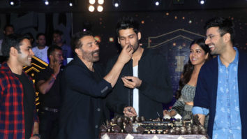 Sunny Deol, Ishita Dutta & others at Wrap Up Party of Movie Blank
