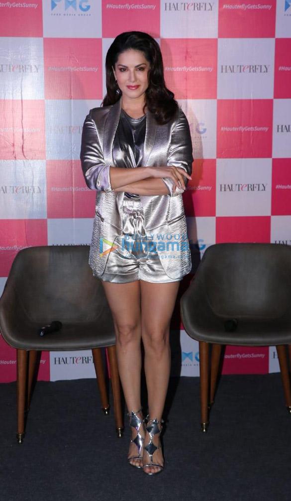 Sunny Leone announced as the face of the digital platform Hauterfly (1)