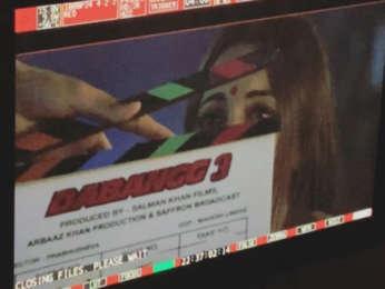 'Tere Mast Mast Do Nain': Sonakshi Sinha gives a glimpse of Rajjo while shooting for Dabangg 3