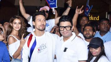 Tiger Shroff, Disha Patani, Bhushan Kumar & others at launch of Pepsi's new anthem 'Har Ghoont Mai Swag Hai'