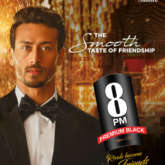 Tiger Shroff roped in as the new face of 8 PM Premium Black (Music CDs)