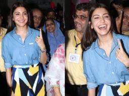 WATCH Anushka Sharma cast her VOTE for Lok Sabha Elections
