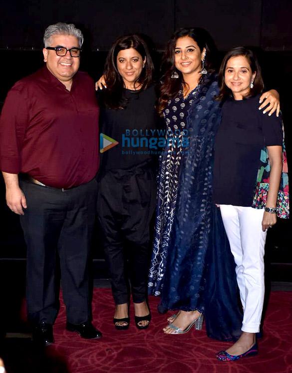 Zoya Akhtar, Vidya Balan and others snapped at Critics Choice Film Awards announcement