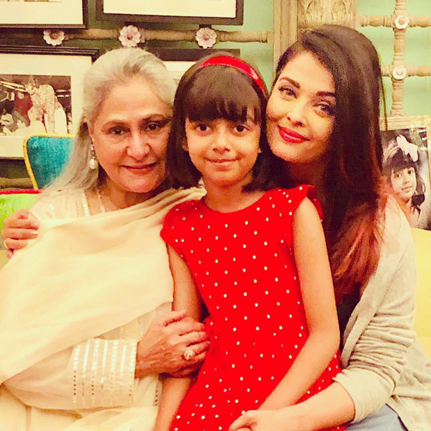 Aishwarya Rai Bachchan shares a picture with Jaya Bachchan and daughter Aaradhya and it will definitely bring a smile on your face!