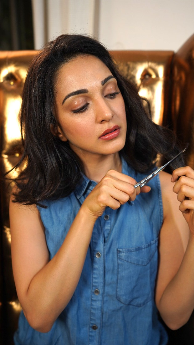 DID YOU SEE THIS? Kiara Advani chops off her hair in irritation in this video and it is all the social media is talking about!