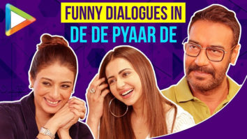 Ajay Devgn, Rakul Preet & Tabu On Music, Luv Ranjan's Writing, Funny ScenesDe De Pyaar De