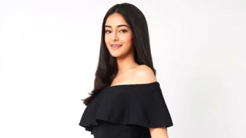 Ananya Panday looks all things dreamy in this shimmery outfit