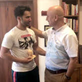 Anupam Kher praises Varun Dhawan, says he's shown a great graft since his first film