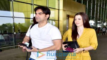 Arbaaz Khan, Raveena Tandon, Sonu Sood and others snapped at the airport