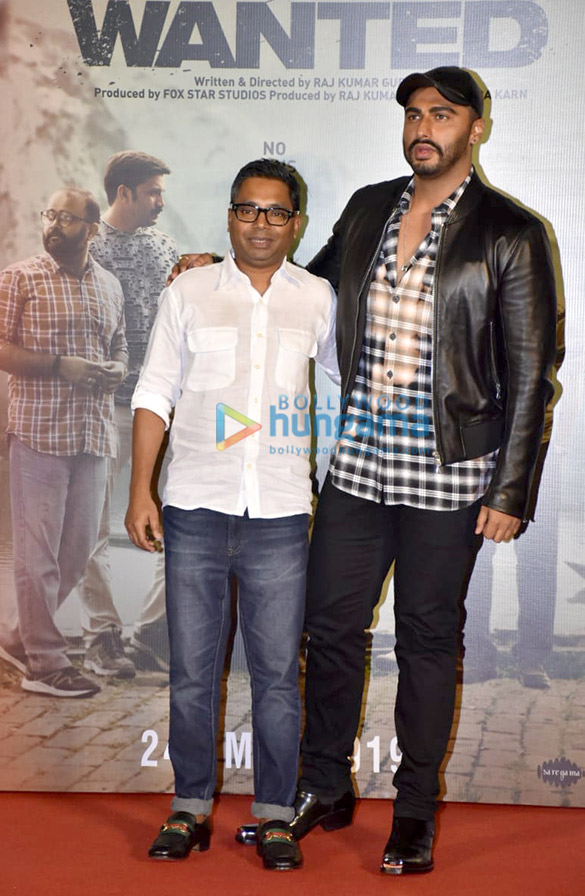 Arjun Kapoor and Rajkumar Gupta grace the trailer launch of the film 'India's Most Wanted'1 (4)