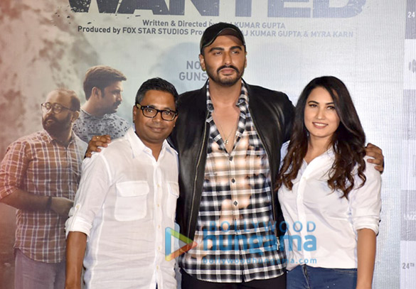 Arjun Kapoor and Rajkumar Gupta grace the trailer launch of the film 'India's Most Wanted'1 (5)