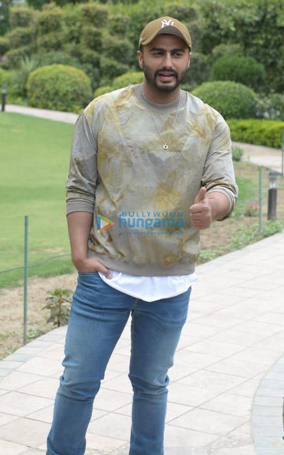Arjun Kapoor & director Raj Kumar Gupta snapped during India's Most Wanted promotions in Delhi (4)
