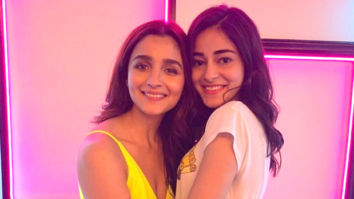 CUTENESS OVERLOAD! Alia Bhatt posed with Ananya Panday on the sets of 'The Hook Up Song'