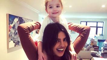 CUTENESS OVERLOAD Priyanka Chopra Jonas posing with her niece, Valentina Jonas, is going to make your Monday better!