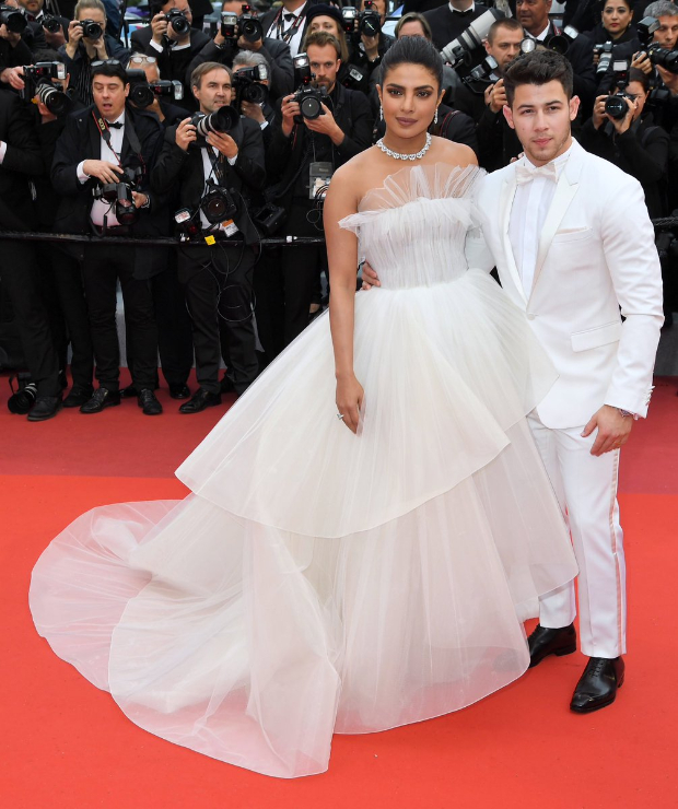 Cannes 2019 Day 3: From bridal-inspired white gown to glowing sultry look, Priyanka Chopra creates storm with husband Nick Jonas