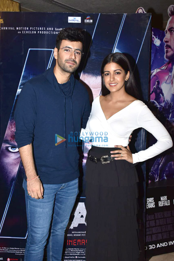 Celebs snapped at the special screening of 'Blank' (1)