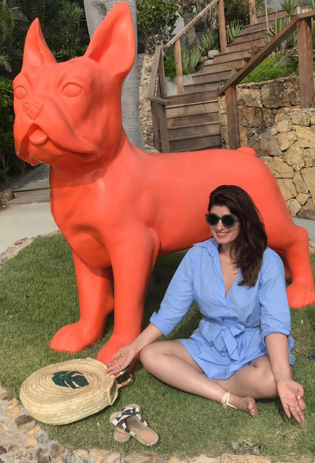 Twinkle Khanna replicates the Modi spiritual pose; shares a rather quirky post on it!