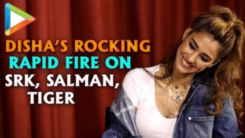 """Disha Patani """"Salman Khan- SWAG, Shah Rukh Khan- SUPERSTAR"""" Rapid Fire Bharat"""